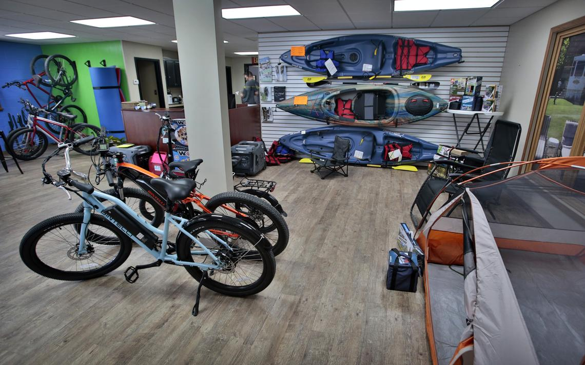Outdoor adventure products can also be rented at GoGo Rental located at 1721 E. Main Ave. in West Fargo. David Samson / The Forum