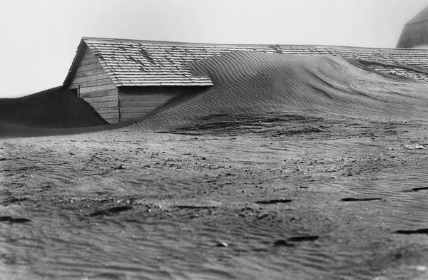 South Dakota was one of the places that saw severe soil erosion from wind during the Dust Bowl of the 1930s.