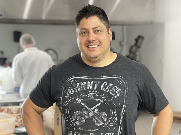 Paul Guglielmo makes his signature pasta sauce in Rochester, N.Y. He also makes and bottles products for others.